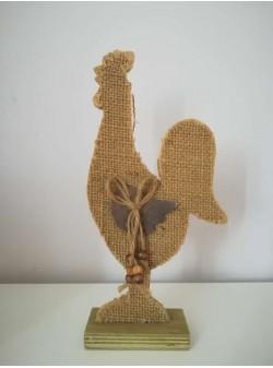 cocos lemn , H 23 cm
