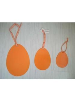 oua metal pentru agatat , 3 buc