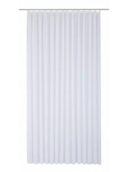 perdea alba transparenta , my home , L 450 / H 145 cm
