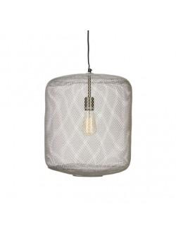 Lampa cu abajur din sarma