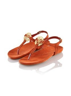 Lis du Perou , sandale piele , caramizii