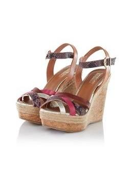 CONLEYS BLACK Sandale piele naturala
