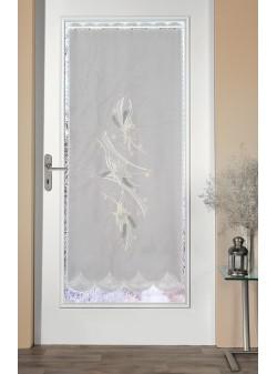 Perdea pentru usa cu broderie H158x 66cm